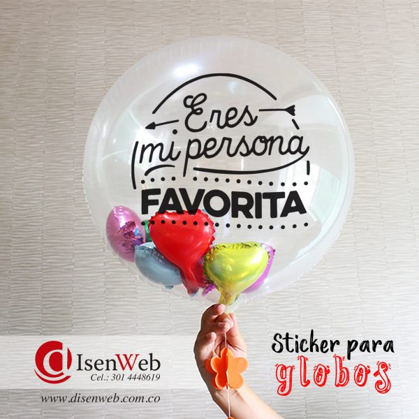 Sticker eres mi persona favorita