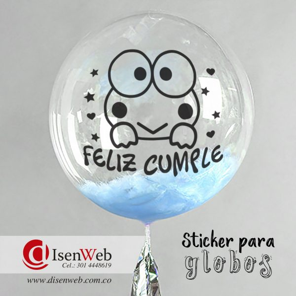Sticker Feliz cumple